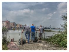 The fishing men