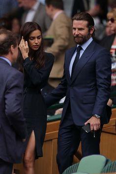 Irina Shayk and Bradley Cooper in Tom Ford