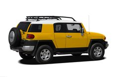 Sleek and sporty, the 2010 Toyota FJ Cruiser five-passenger midsize SUV traces its roots back to the 1958 FJ40, which was known as a tough, dependable four-wheel-drive truck. Description from newcars.com. I searched for this on bing.com/images