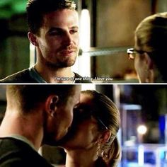 """""""I'm sure of one thing, I love you! <3 #Olicity"""