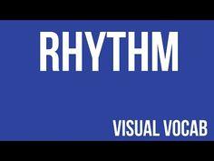 Rhythm defined - From Goodbye-Art Academy - YouTube