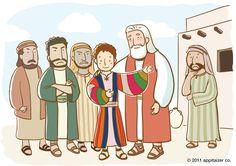 Joseph was the Jacob's love.