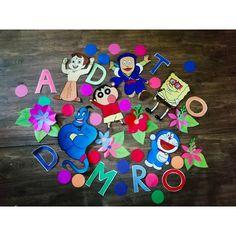 Kids corner😍😍 #alladin #doreamon #chotabheem #ninjahattori #spongebob #jin #artsy #artandcraft #kidsdecor #cartoonnetwork #cartoon #cartoonist #fundecor #kidsart  Fake Girls, Kids Corner, Spongebob, Jin, Diy And Crafts, Easy Diy, Artsy, Cartoon, Bricolage Facile