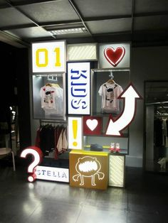 "Pop-up Store London, UK for Stella McCartney ""kids"", pinned by Ton van der Veer"