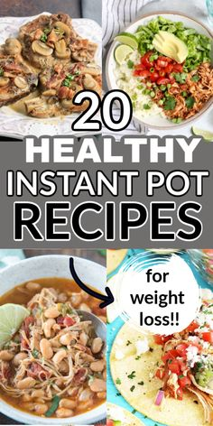 Clean Eating Chicken, Clean Eating Recipes For Dinner, Instant Pot Dinner Recipes, Clean Recipes, Healthy Dinner Recipes, Crockpot Healthy Recipes Clean Eating, Clean Chicken Recipes, Pizza Recipes, Eating Healthy