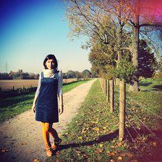 autumn love dress (free pattern!) from nettevivante.cute!