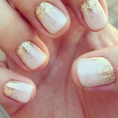 Love the gold glitter!