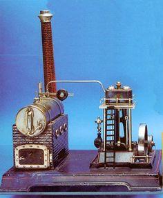 Doll Stationary Steam Engine