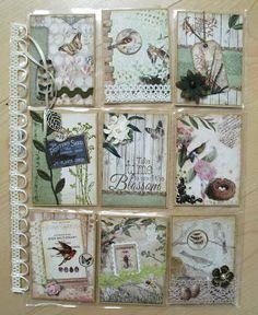 Utes kreative Seite: Pocket Letter No. 23 - Blumen