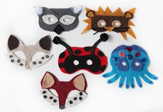 DIY No-Sew Animal Masks (with template)