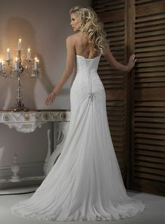 Large View of the Teracina Bridal Gown