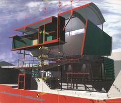 Neil Denari | Massey Residence, 1995