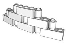 Image result for lego wall techniques