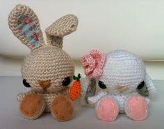 Conejo Amigurumi Patron Gratis : Conejo amigurumi patrón gratis en español aquí