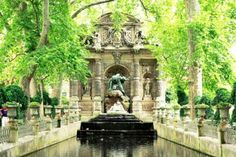 Luxembourg Gardens Paris -location
