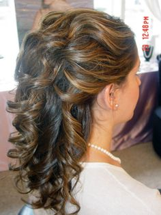 Updo 7 Wedding Updos For Curly Hair Medium Length Design 480x640 Pixel