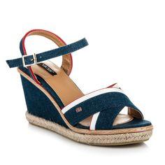 Dámske sandále na podpätku 1234-13N