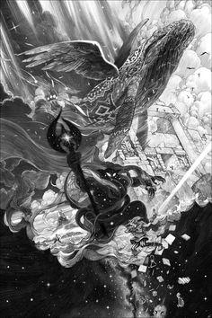 Dance With Shadows – L'Exposition Nicolas Delort à la French Paper Gallery – Geek Art – Art, Design, Illustration & Pop Culture !