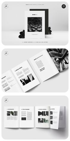 Product Features : - 24 custom page document - 2 size & US letter) - Master page - Compatible with adobe indesign & higher - Grid content - Free font Paper Design, Book Design, Layout Design, Text Layout, Book Layout, Design Guidelines, Brand Guidelines, Module Design, Typography Design