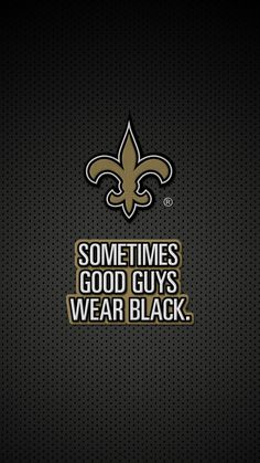 Dress up your phone in black and gold with New Orleans Saints smartphone wallpapers from Verizon.