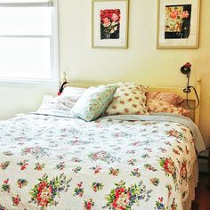 Rosy bedspread Nst Pretty Things