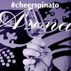 Drink a toast with Anna Spinato #wines to celebrate your best occasions!! #cheerspinato