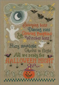 I'm sure you've noticed that I'm a fan of Imaginating and I love Halloween themed projects, so it's probably not too surprising that I picked Halloween Night as chart of the…