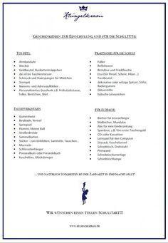 Hurra, ich bin ein Schulkind...!  Ideen zur Einschulung und für die Schultüte. | Klüngelkram