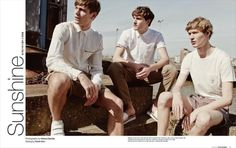 "Arena Homme+ Korea Does Summer Style with Light Colors Arena Homme+ Korea Does Summer Style with Light Colors ""Ben Allen, Luka Badnjar and Sven de Vries star in a summer-themed fashion editorial for. Story Inspiration, Character Inspiration, Fashion Inspiration, Carpe Diem, Dead Poets Society, Old Money, Alfred Stieglitz, The Secret History, Magazine Editorial"