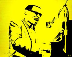 Ray Charles POP ART Through The Eyes Of Love by AustinJamesArt, $150.00