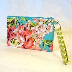 Amy Butler Fabric Wristlet Clutch