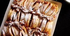 林檎たっぷり、ヘルシーでおもてなしにも見栄えするケーキです。焼くと林檎が少し開きます。 3日目あたりが最高に美味しいです
