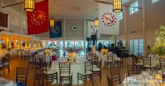 Nantucket Yacht Club ballroom