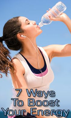 7 Ways To Boost Your Energy - LifeLivity Keeping Healthy, Get Healthy, Healthy Life, Healthy Living, Health Tips, Health And Wellness, Health And Beauty, Health Fitness, Woman Fitness