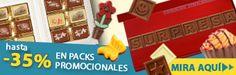¡Asegúrese de mirar nuestras promociones son deliciosos! Chocolate, Bonbon, Messages, Different Types Of, Chocolates, Brown