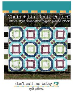 Now available - the Chain + Link PDF Quilt pattern! | Flickr - Photo Sharing!