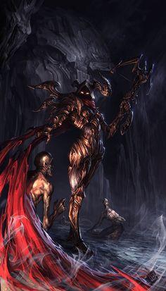 Demon Hunter by EdCid.deviantart.com on @deviantART