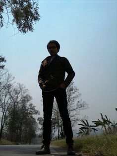 Go to  Fang city @chiangmai lonely trip20-03-2013