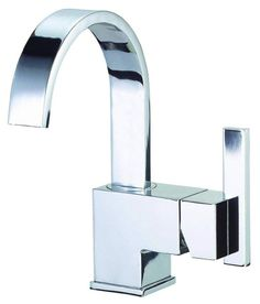 Danze D221144 Single Hole Bathroom Faucet From the Sirius Collection (Valve Incl Chrome Faucet Lavatory Single Handle