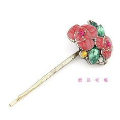 Hair Pin - Rose Style with Different Colored Rhinestones by praise and grace gift shop. $3.99. Hair Pin - Rose Style with Different Colored Rhinestones. Save 60%!