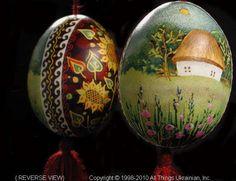 Ukrainian Easter Egg Pysanky UA10106  by Iryna Vakh  from the Lviv  on AllThingsUkrainian.com