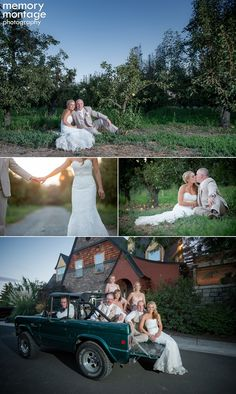 memory montage photography - BLOG: Abby + Shane || Sawyer Gardens Wedding in September
