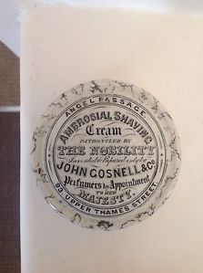 Early John Gosnell Lid & Base | eBay