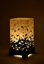 Taking Flight Black Acrylic Table Lamp Decor, Home Goods, Table Lamp, Lamp Decor, Table, Home Decor, Furnishings, Acrylic Table, Buying Furniture
