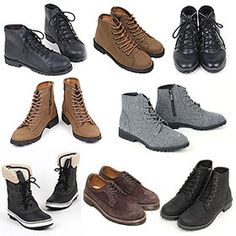 Gmarket - 남자 워커 트래킹슈즈 부츠 닥터마틴 키높이 신발 남성 앵... All Black Sneakers, Combat Boots, Cool Outfits, Men's Fashion, Glass, Shoes, Style, Cool Clothes, Men Wear
