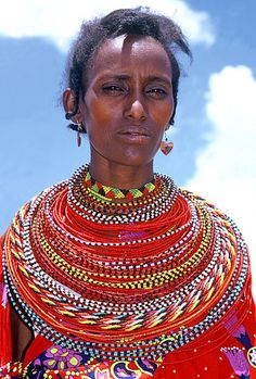 Modern Maasai Beaded Necklace
