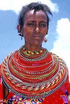 Modern Maasai Beaded Necklace