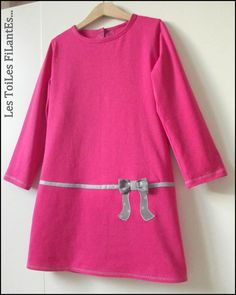 robe en jersey bio framboise France Duval Stalla                                                                                                                                                                                 Plus