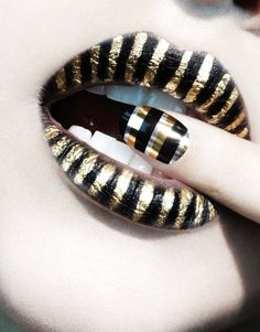 nail art and lips art  #lips  #sexy  #girls   www.loveitsomuch.com