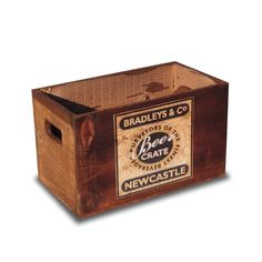 Vintage Beer Crate from notonthehighstreet.com